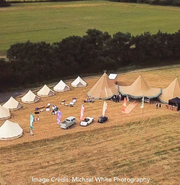 Enchanted-Bell-Tents-arial-view