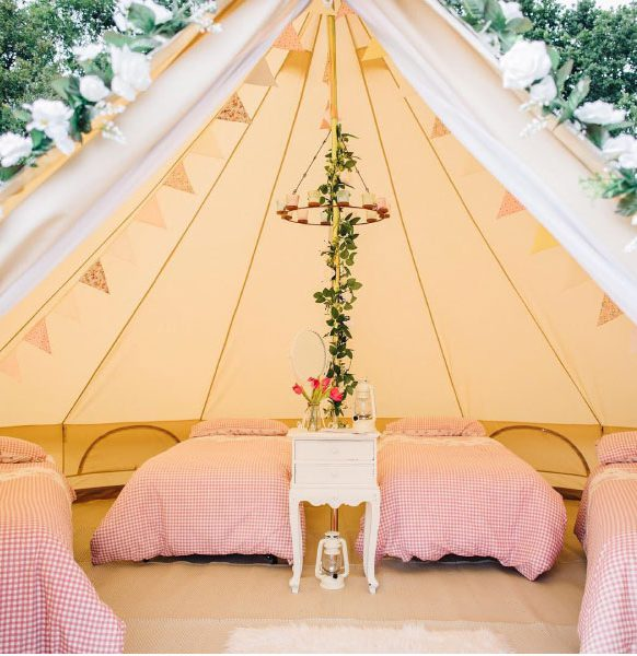 Enchanted-Bell-Tents-hen-party-glamp-out
