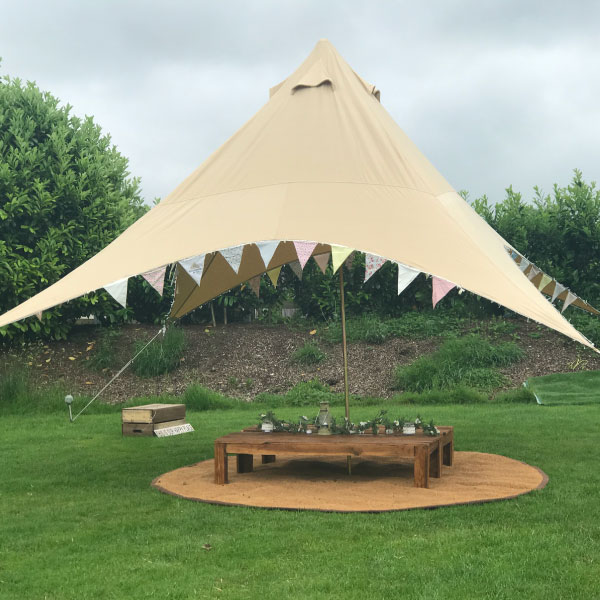 hot sale online cde2d d8133 Glamping weddings and wedding village Bell Tent hire