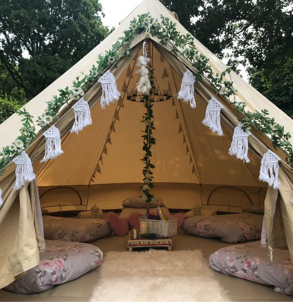 sleepover-glamping-party