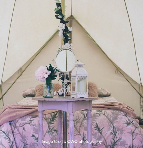 Enchanted-Bell-Tents-hen-camping